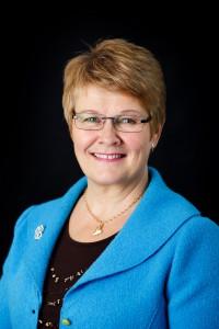 Energi- och näringsminister Maud Olofsson fotograferad för Nordiska Ministerrådet. 2011-02-25.